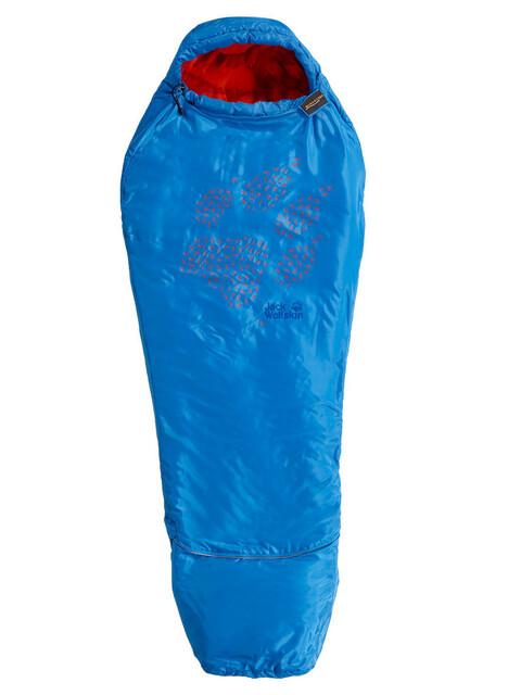 Jack Wolfskin Grow Up Sleeping Bag Kids brilliant blue